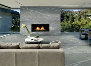 Satinato Fireplace Design